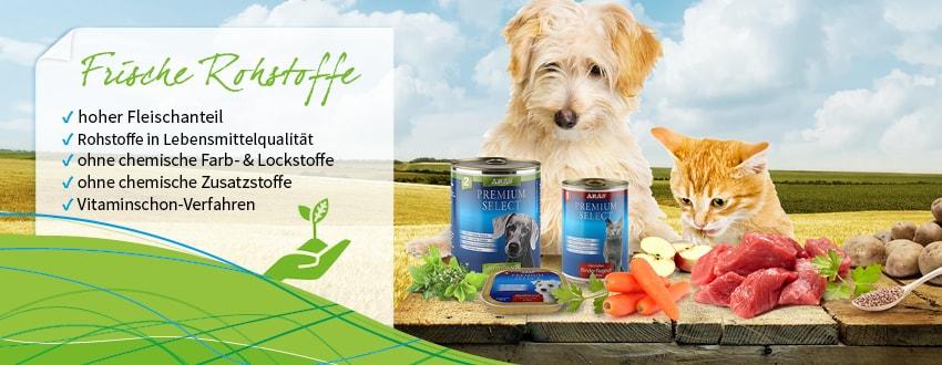 Hundefutter Katzenfutter Online bestellen