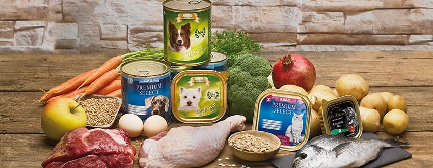 Gesundes Hundefutter & Katzenfutter Online bestellen bei ARAS