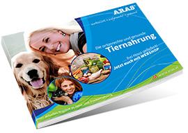 ARAS Hunde Katzen Tiernahrung Katalog