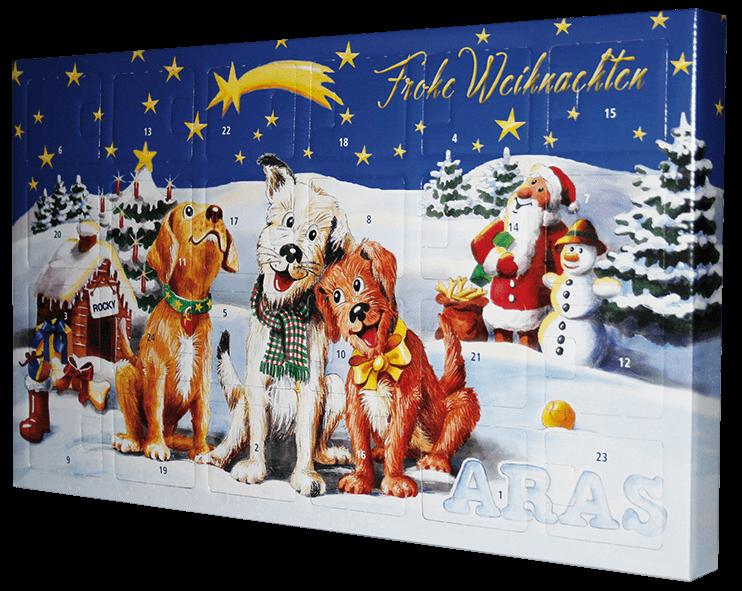 ARAS Adventkalender für Hunde