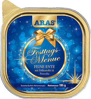 ARAS Festtags-Menü für Hunde